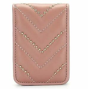 Lipstick Case Portable Makeup Bag Cosmetic Lipstick Pouch Pink