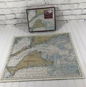 Martha's Vineyard Jigsaw Puzzle 500+ Pieces 18 x 22 BBA Chart Kit Authentic