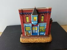 Liberty Falls Village Americana Collection Sports & Apothecary Shops Ah207 2000