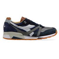Diadora Heritage N9000 Made in Italy scarpe Sneakers da uomo blu grigio causal