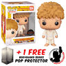 FUNKO POP ONE PUNCH MAN SAITAMA REMOVABLE HAIR EXCLUSIVE + FREE POP PROTECTOR
