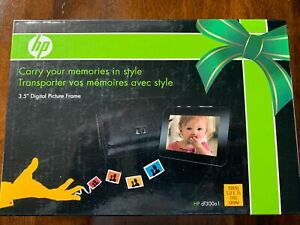 "Brand New HP 3.5"" Digital Portable Picture Frame DF300A2 3.5"" With Leather Case"