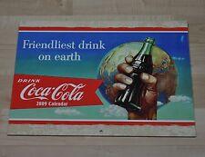 Bel vecchio Coca-Cola Calendario 2009 USA Coca Cola calendario