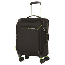 NEW American Tourister Applite 4 Security Spinner Blk/Grn 55cm