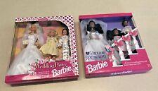 Dream Wedding Barbie Stacie & Todd (AA) & Wedding Party Barbie Stacie & Todd NIB