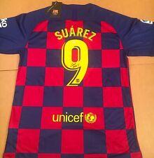 Luis Suarez Barcelona Uruguay Autographed Signed Jersey XL COA