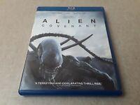 BluRay DVD Alien Covenant Movie