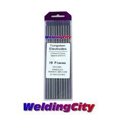 "10-pk TIG Welding Tungsten Tri-Element Non-Radioactive Purple 1/16""x7"" US Seller"