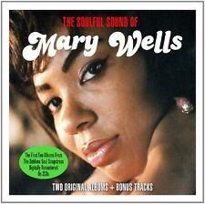 MARY WELLS - SOULFUL SOUND OF 2 CD NEU