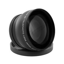 58mm 2.2X Telephoto Lens For Canon 18-55mm 75-300mm 55-250mm 50mm 1.4 Lenses