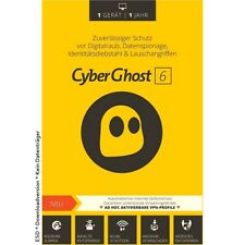 CyberGhost 2018 * VPN Vollversion * PREMIUM
