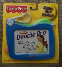 FISHER PRICE CLIP ON DOODLE PRO MAGNETIC DRAWING TRAVEL & PORTABLE SIZE *NEW*
