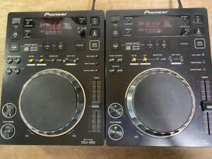 Pioneer CDJ-350 Pair DJ Player CDJ 350 Multi Player HDD USB 2 set
