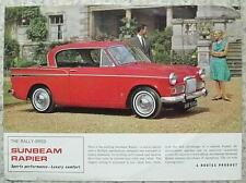 SUNBEAM RAPIER Car Sales Specification Leaflet 1964 #1088H SPORTS SALOON