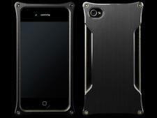 Abee Aluminum Jacket For iPhone 4 Type 06 Black