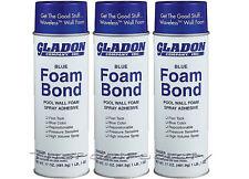Gladon Spray Adhesive Foam Bond for Pool Wall Foam - 3 Pack