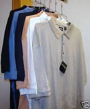 4 PING Golf - NEW Men's Size XXXXL, Silk Cotton Blend Polo Sport Shirts 4XL $300
