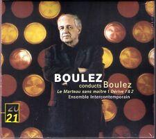 Pierre Boulez le marteau sans maître dérive 1 2 Hilary Summers CD maître derive