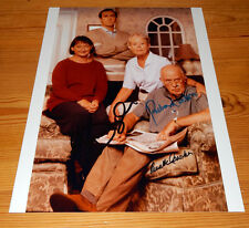 One Foot in the Grave - Cast SIGNED Photo - Richard Wilson & Annette Crosby