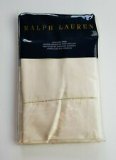 RALPH LAUREN LANGDON SATEEN HOLLYWOOD CREAM ONE STANDARD PILLOW SHAM