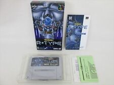 Super Famicom Super R Type Mint Condition Item Ref/aba Nintendo JAPAN Game sf