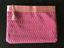 Pink Toiletry Bag Make-up Case - Brand New