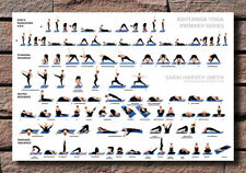 Hot Gift Poster Yoga Ashtanga Picture Primary Series Sequence 40x27 30x20 F-740