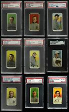 1909-11 T206 Baseball Almost Complete Set 4 - VG/EX