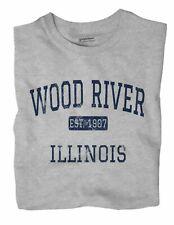 Wood River Illinois IL T-Shirt EST