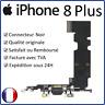 IPHONE 8 + PLUS NOIR - NAPPE DOCK FLEX CONNECTEUR DE CHARGE USB MICRO ET ANTENNE