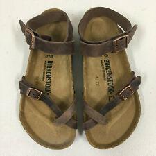 Women's Leather Upper Birkenstock Yara Sandals for sale   eBay
