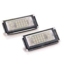 2x placa LED de iluminacion luces de la matricula para BMW Mini Cooper R50 R5 Z2