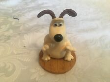 "TOPFLAIR WALLACE AND GROMIT FIGURE OF GROMIT RESIN 1989 3"" TALL VGC"