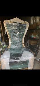 Throne Chair Emerald Green
