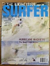 Collectible - Vintage Surfer Magazine - Feb. 93 Vol.34 No.2 - Bikini - Hurricane
