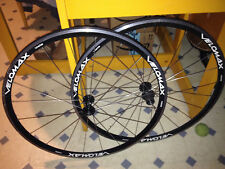 VELOMAX Vista 700C 24-Spoke Road Bike Wheel Velo max Hubs rims wheels black