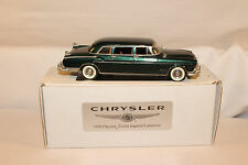 Legendary Motorcars, 1956 Chrysler Crown Imperial Limousine, White Metal, Boxed
