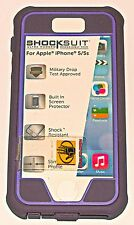 Body Glove ShockSuit case iPhone 5/5s/SE, for Touch ID, Purple and Lavender, NEW