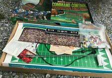 Coleco World Of Sports Command Control Electric Action Football Game 1970's B