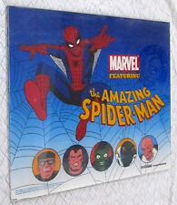 "Very Rare Marvel ""The Amazing Spiderman"" Slot Machine Top Box (Large) Glass"