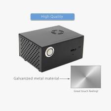 Raspberry Pi X820 V3.0 Schwarz Gehäuse Case+Cooling Lüfter Fan für X820 SSD HDD
