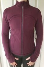 LULULEMON Size 2 Define Jacket SE Pleat Redwood RDWO Zip Up Run Yoga Fitness NWT