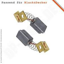 Kohlebürsten Motorkohlen für BLACK&DECKER CD 115 / CD115 6,3x8mm 596071-00