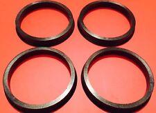 Ac Schnizer Center Ring Plastic 82 MM-72.56 MM  Made For Ac-s Wheel Set Of 4 Pcs