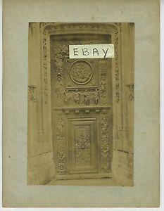(94) Photo ROUEN Porte de Jean Goujon Eglise Saint Maclou