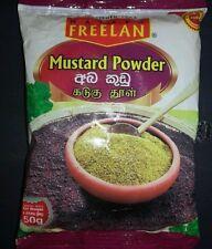 MUSTARD Powder 50g Free Shipping (Pure Organic Ceylon)