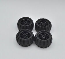 Lego 4 x rueda neumáticos negro Black Wheel tire 43.2x26 Balloon 56145c04