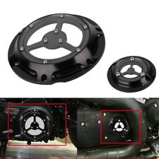 Motorcycle Derby Cover Timing Timer Covers Set for XL XR 883 1200(black) AU