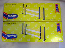 Breyer Horse Jump Lot - Two Yellow Plank Jumps - #7622 - New and Factory Sealed