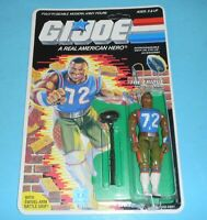 *RECARDED* 1986 GI Joe The Fridge Figure Complete Sealed *CUSTOM File Card Back*